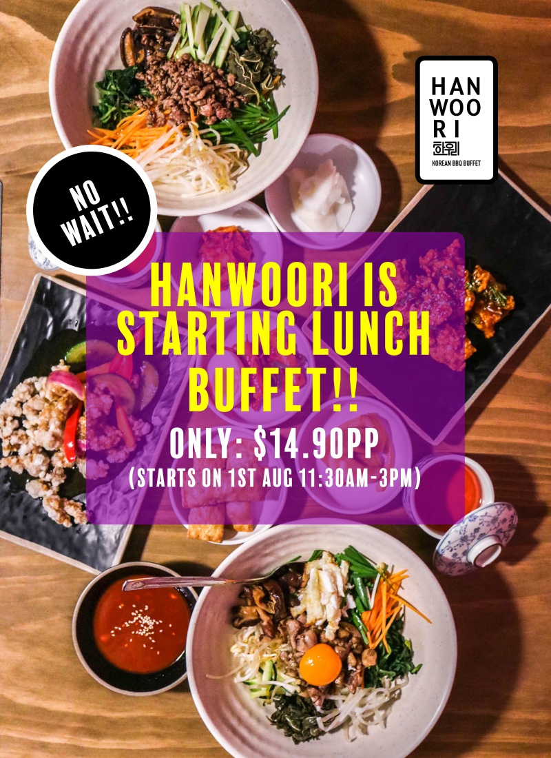 Hanwoori Lunch Menu