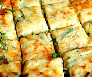 Have you tried Korean vegetable pancakes?